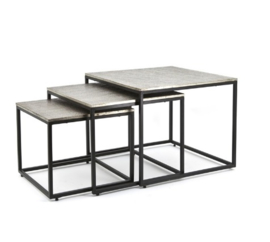 Tafel ByBoo Coffeetable Set Trapeze - Square
