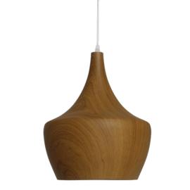 Houten hanglamp Oase