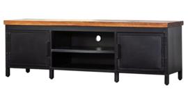 TV meubel industrieel metaal/hout