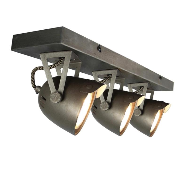 LED Spot 3 Cap Metaal of Zwart LABEL51