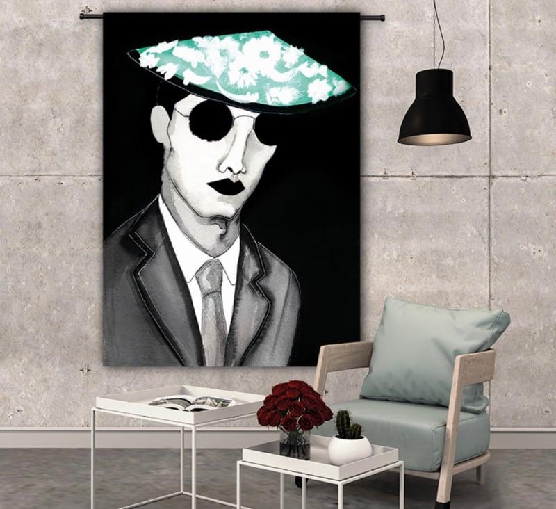 Wandkleed Mr. Cool Urban Cotton