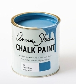 Greek Blue Chalk Paint van Annie Sloan
