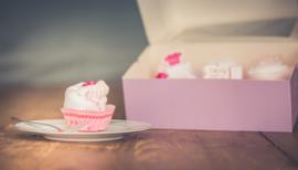 Cupcake doosje meisje