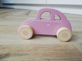 Roze auto