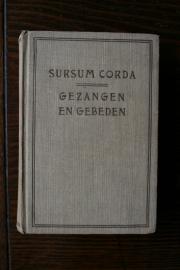 Kerkboekje Sursum Corda gezangen en gebed uit 1932 (art.nr. 084)
