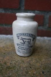 Kruikje, Richardson's thick-cream Sheffield (art.nr. 146)
