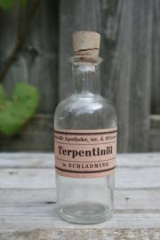 Medicijnflesje 50 ml Terpentinöl