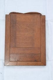 Oude houten fotolijst voor 2 foto's. (Wooden negative frame)