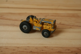 Lesney tractor yellow no. 1