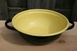 Braadpan zonder deksel zwart/geel (art.nr. 338)