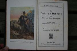 Palastina Bilder Bibel, Die Heilige Schrift des Alten und Neuen Testaments 1913 Stuttgart (art.nr. 106)