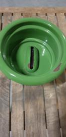 Petroleumstel 1-pits origineel Putter reseda met gietijzeren treef