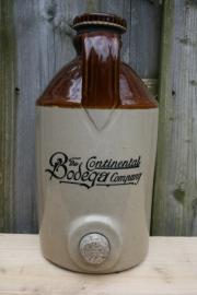 Kruik, wijnkruik The Continental Bodega Company 1810  (art.nr. 178)