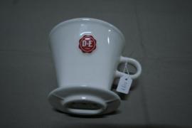 DE koffiefilterhouder 3-gaats wit
