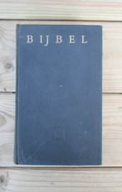 Bijbel met inscriptie (Amsterdam Het Nederlandsch Bijbelgenootschap 1967) Linnen hardcover