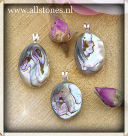 Abalone schelp, 925 zilver