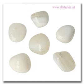 Witte agaat