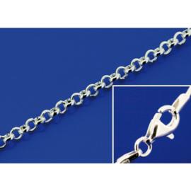 Zilveren ketting 1,8 mm 42 cm