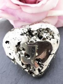 Pyriet hart, 6 cm x 6 cm