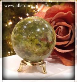 Groene Opaal bol, 6,5 cm