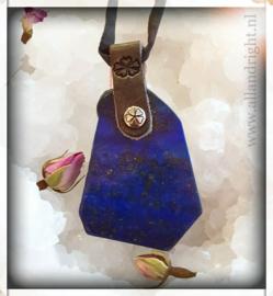 PimpsandPearls Lapis Lazuli ketting, ca. 4,5 x 3,5 cm