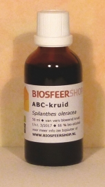 abc kruid tinctuur 50ml