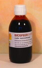 Rode zonnehoed 250ml