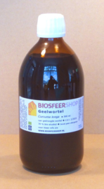 Geelworteltinctuur 500ml