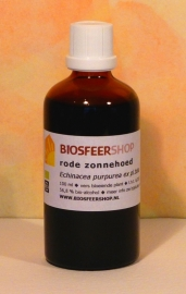 Rode zonnehoed 100ml