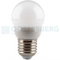INTERLIGHT LED DIMBAAR 230V E27 2.5W 3000K KOGELLAMPEN