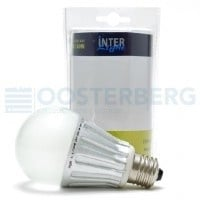 INTERLIGHT LED SCHEMERSCHAKELAAR 230V E27 OPAAL 4W 350L 3000K GLS LAMPEN