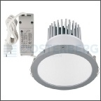 KLEMKO LED DOWNLIGHT 25W 8LED DIAMETER 173MM WIT LUAN