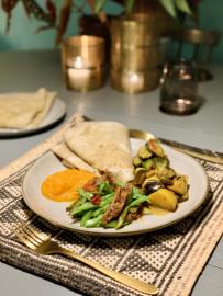 Week 8| Surinaamse Roti, baby! - vegan