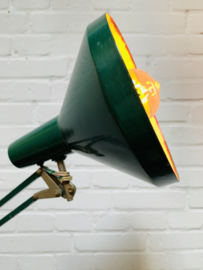 Groene scharnier lamp