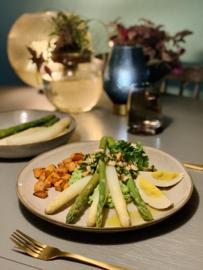 Week 19 | We gaan voor goud met asperges - vegan