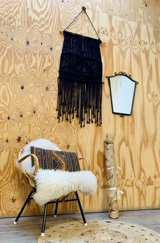 Wandhanger zwart