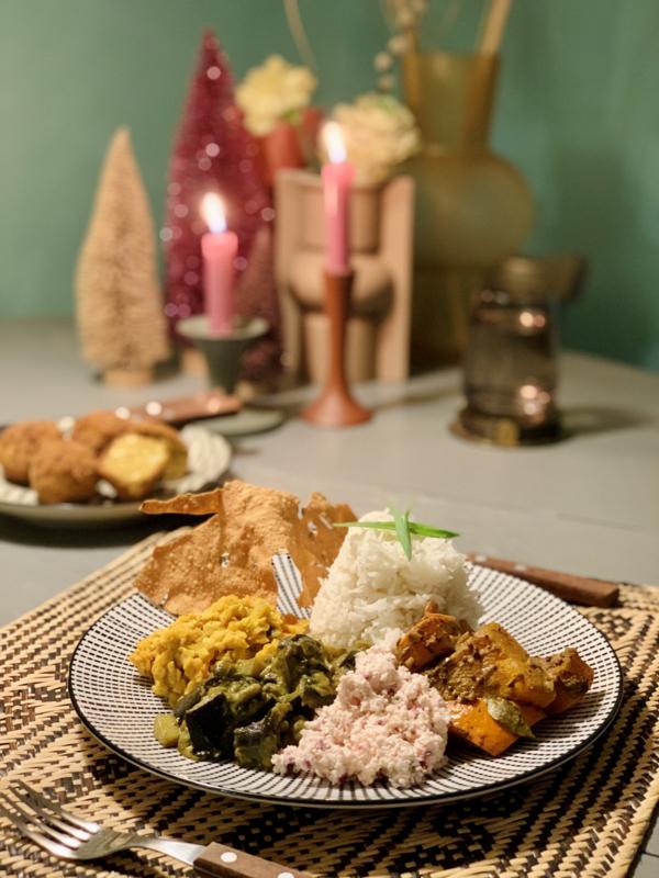 Week 50| Sri Lankaans curry feestje! - vegan