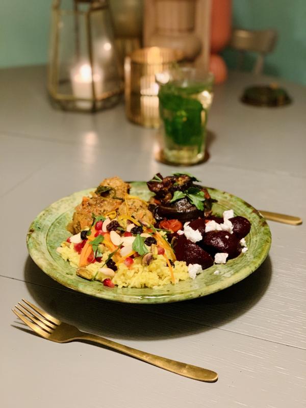 Week 6  Perzisch in geuren, kleuren en smaak - vegan