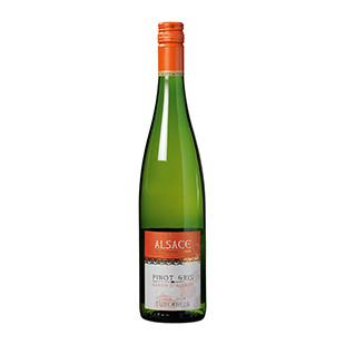 Fles Pinot Gris  (Baron d'Asace, Turckheim, Frankrijk, 2018)