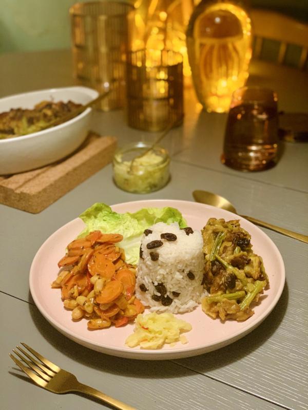 Week 2| Bobotie met chakalaka - vegan