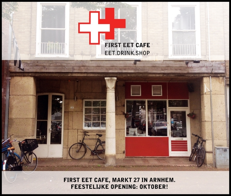 Opening FIRST EET CAFE in Arnhem