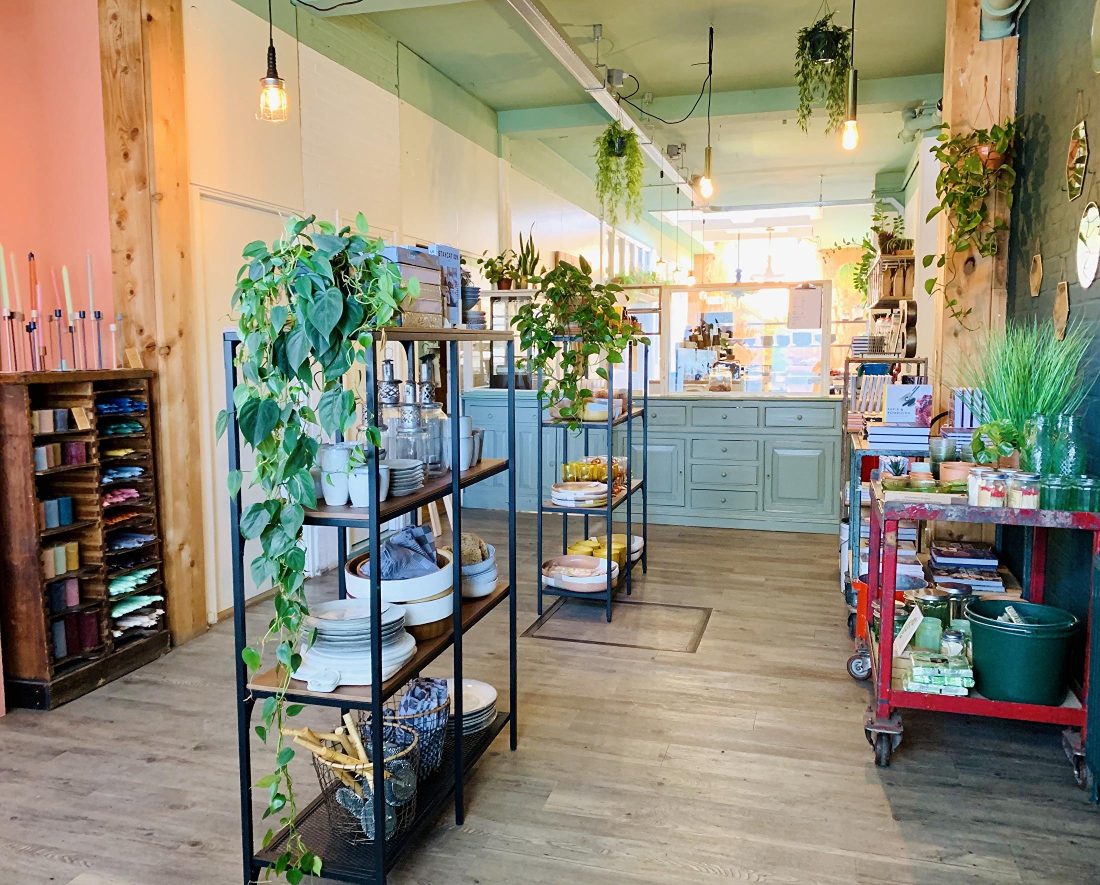 Kiosk Winkel Café