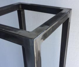 Square 80 Metalen Frame Salontafel  ( excl blad )