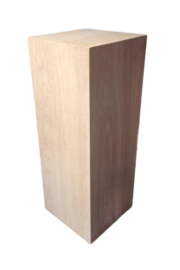 Commissie KKEC - Naturel Eiken Fineer Sokkel 60x40x80(h) cm