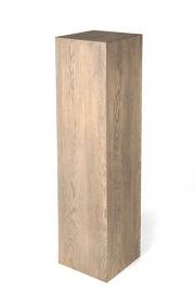 Eiken zuil / sokkel 30 x 30 cm