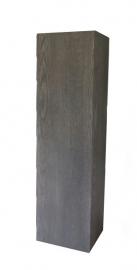 Black Smoke zuil / sokkel 25 x 25 cm