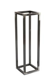 Metalen Frame Sokkel onbewerkt blank gelakt 30x30x100 cm