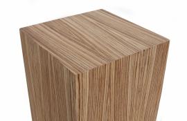 Zebrano houten sokkel type 30