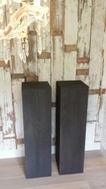 Black Smoke zuil / sokkel 30 x 30 cm
