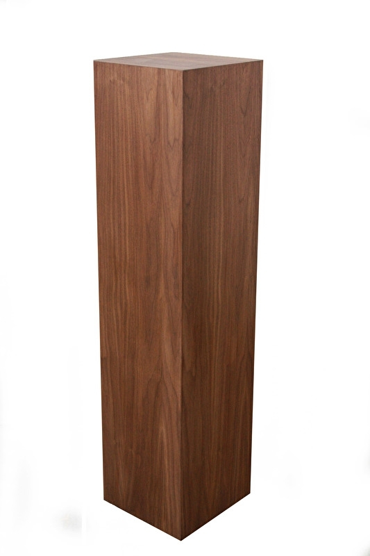 Noten houten sokkel 35 serie